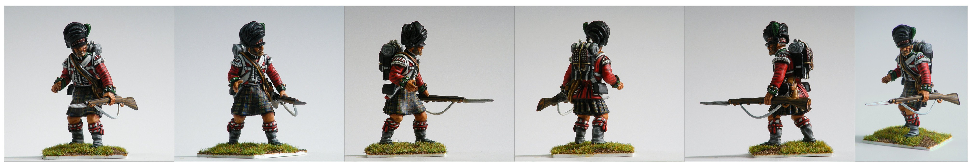 54mm Victrix Highlander