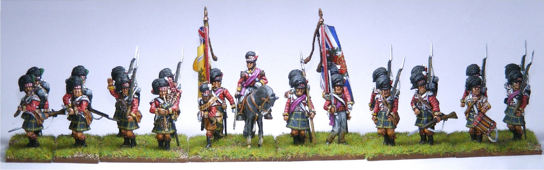 Victrix Highland Infantry - The Gordons