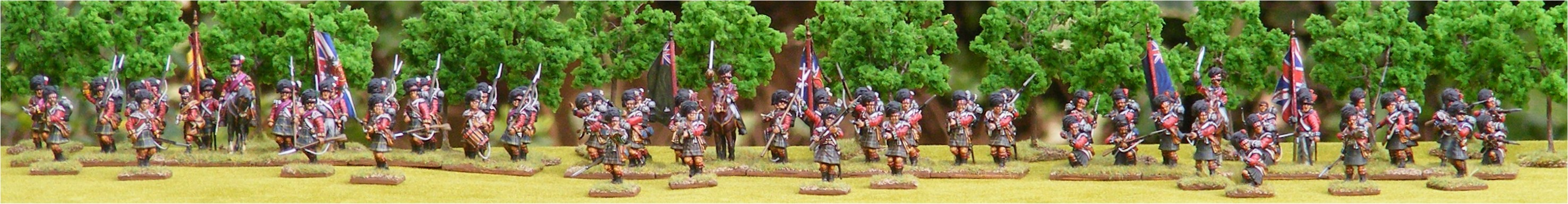 3 Regiments of Victrix Highlanders